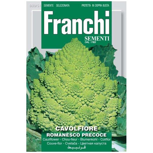 Brassica oleracea botrytis Romanesco Precoce
