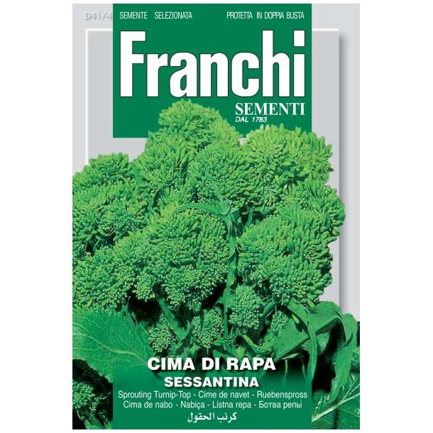 Brassica oleracea var. italic Di Rapa Sessantina