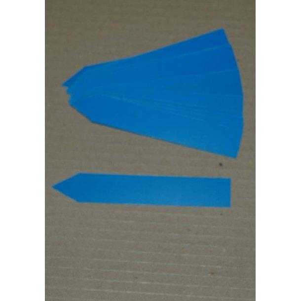 Planteskilte af plast - Blå