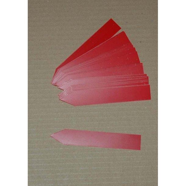 Planteskilte af plast - Røde
